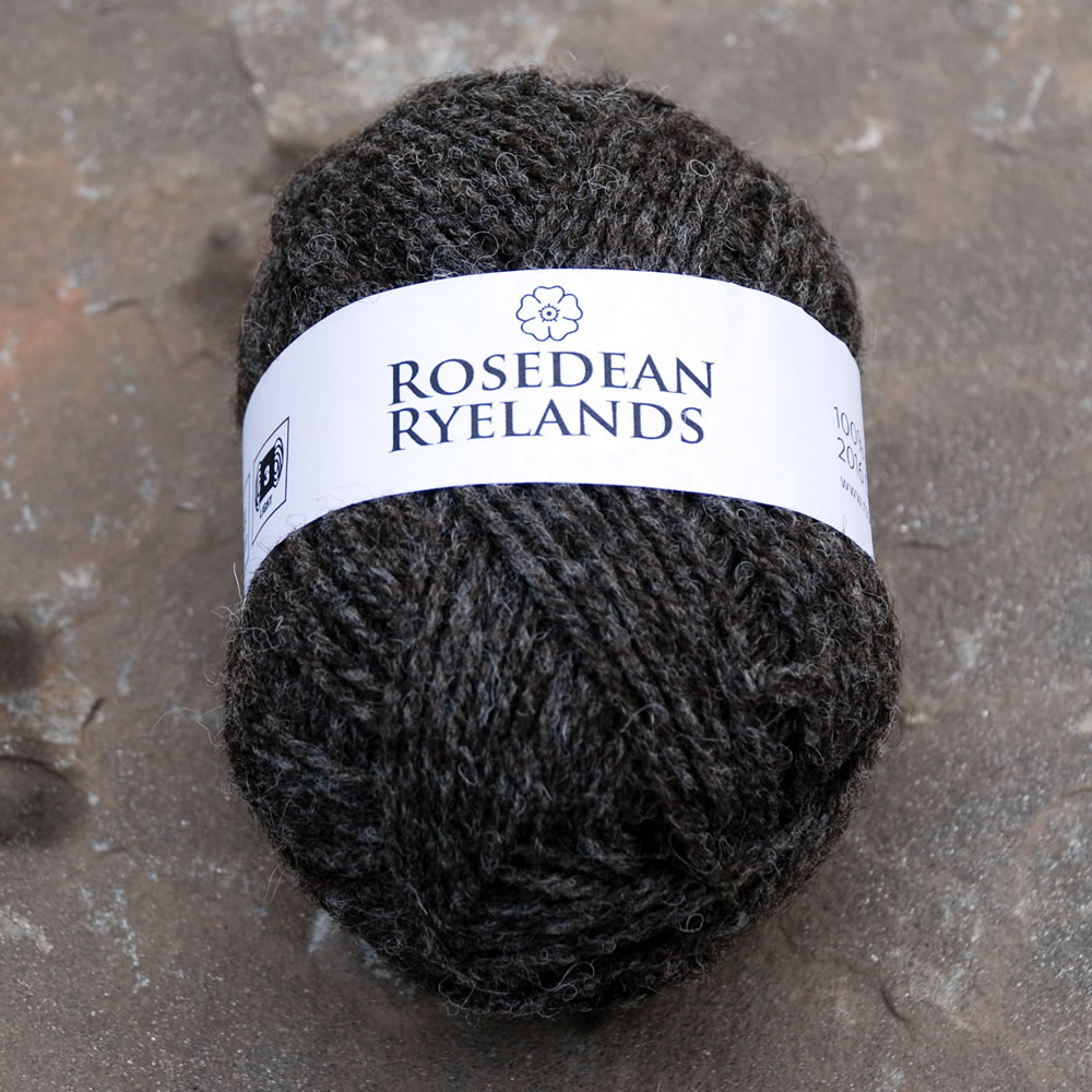 2016 Rosedean Ryelands Dark Yarn
